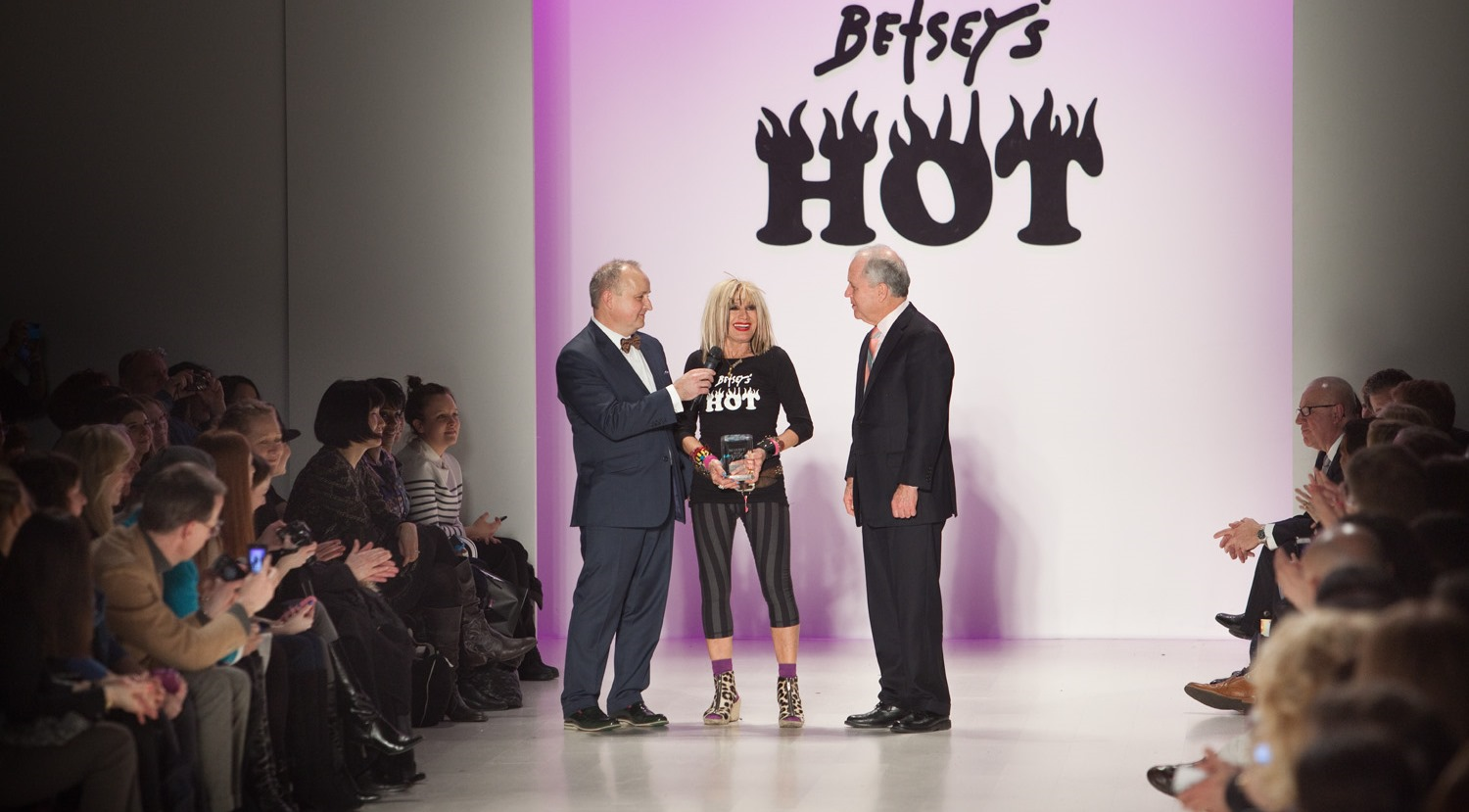 Marist and design icon Betsey Johnson team up at Mercedes-Benz Fashion Week
