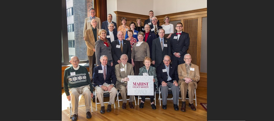Marist Celebrates Founding Members of Legacy Society