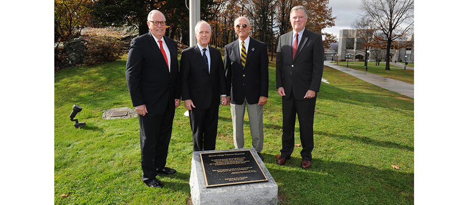 Veterans Memorial Dedicated on Campus