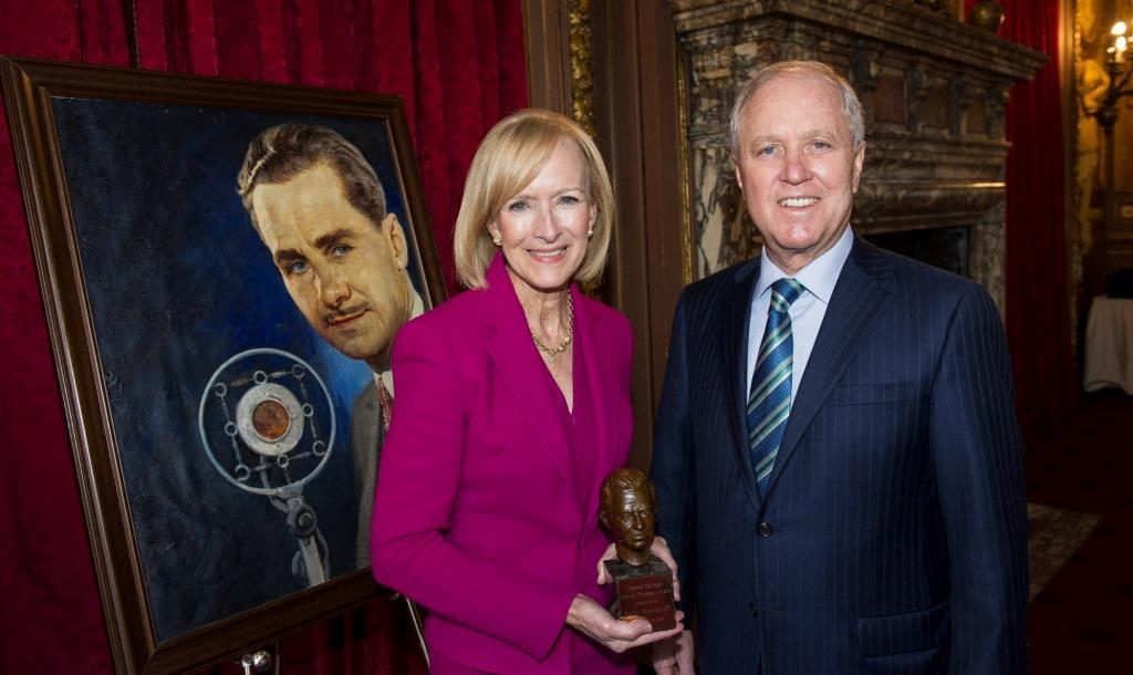 Judy Woodruff Receives Marist Lowell Thomas Award