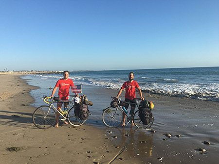 Kyle Mikesh Left And Cameron Schuh In Ventura Ca The End Of Road